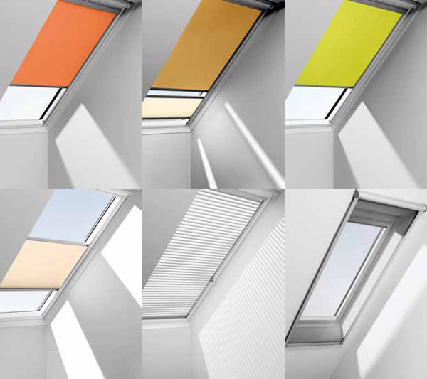 Vigro lattonerie for Tende per velux